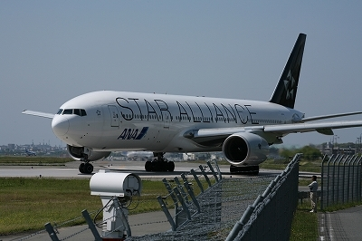 s-ANA ボーイング777-200 スターアライアンス特別塗装機①.jpg